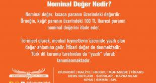 Nominal Değer Nedir