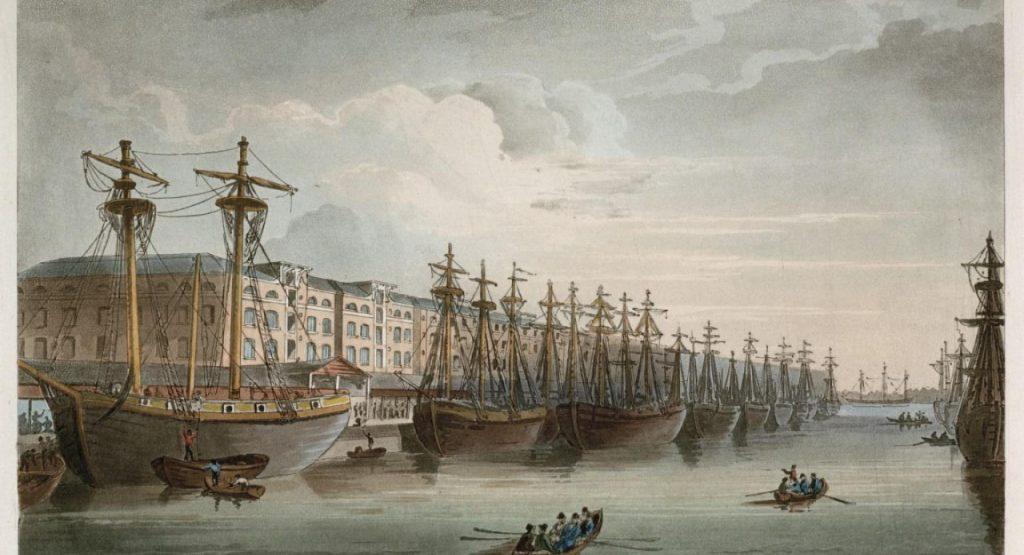 Köle Ticareti Yapan Gemiler - Liverpool