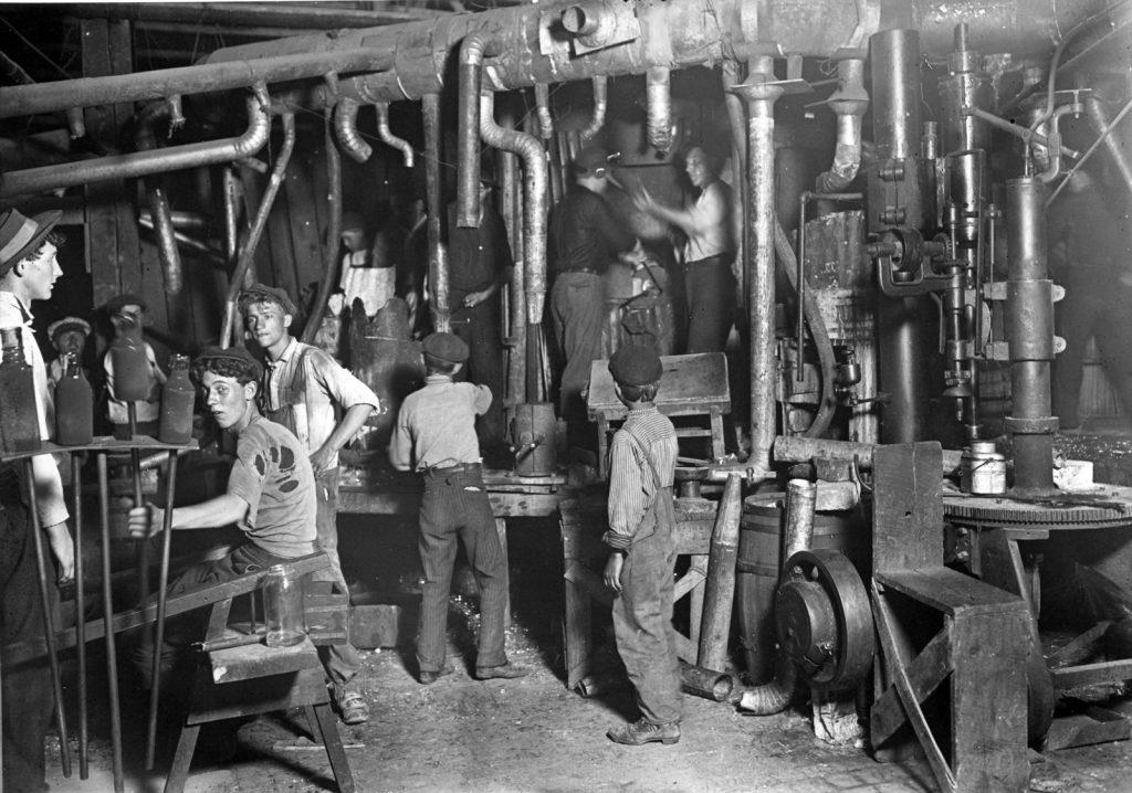 Liverpool'da Çocuk İşçiler
