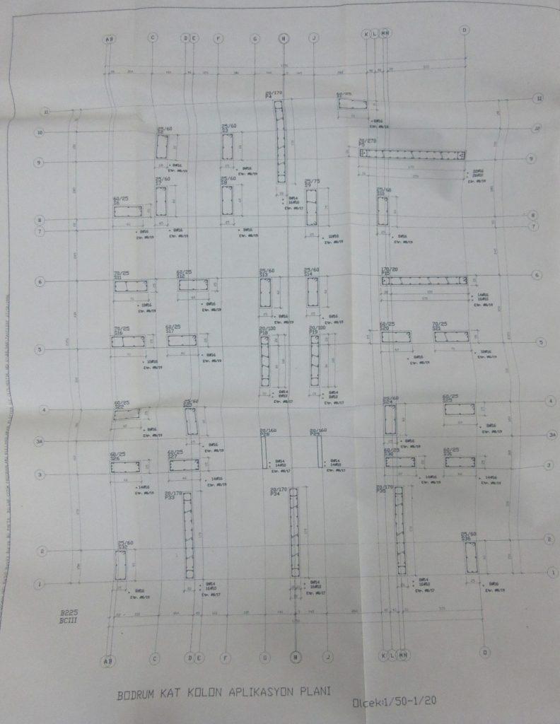 İnşaat Mühendisliği Statik Proje